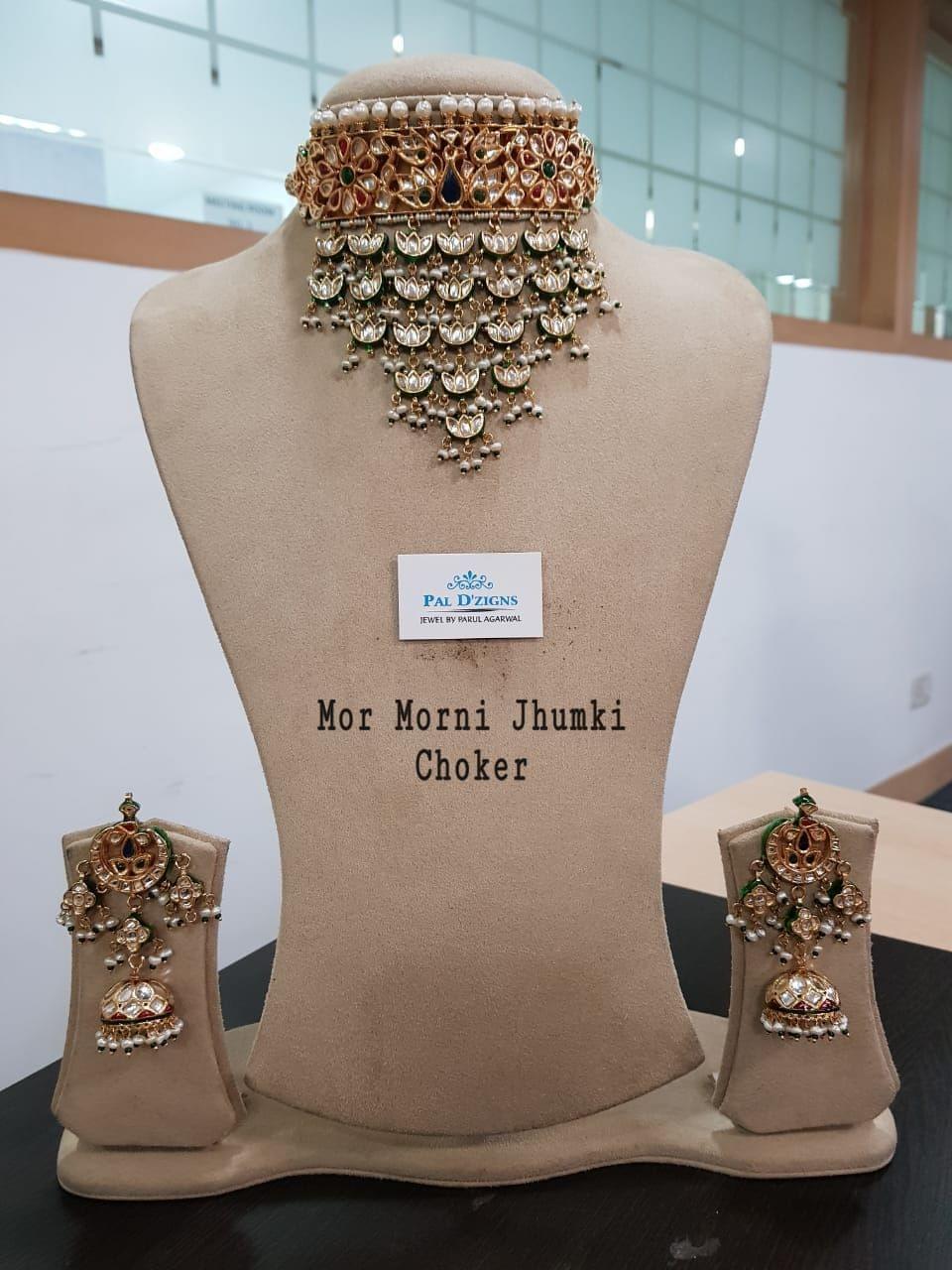 Mor-Morni Jhumki Choker