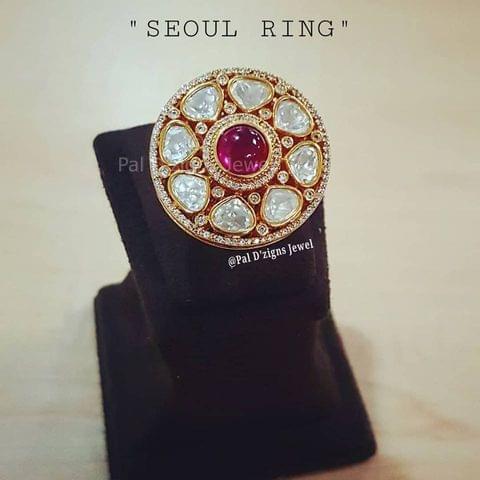 Seoul Polki Ring