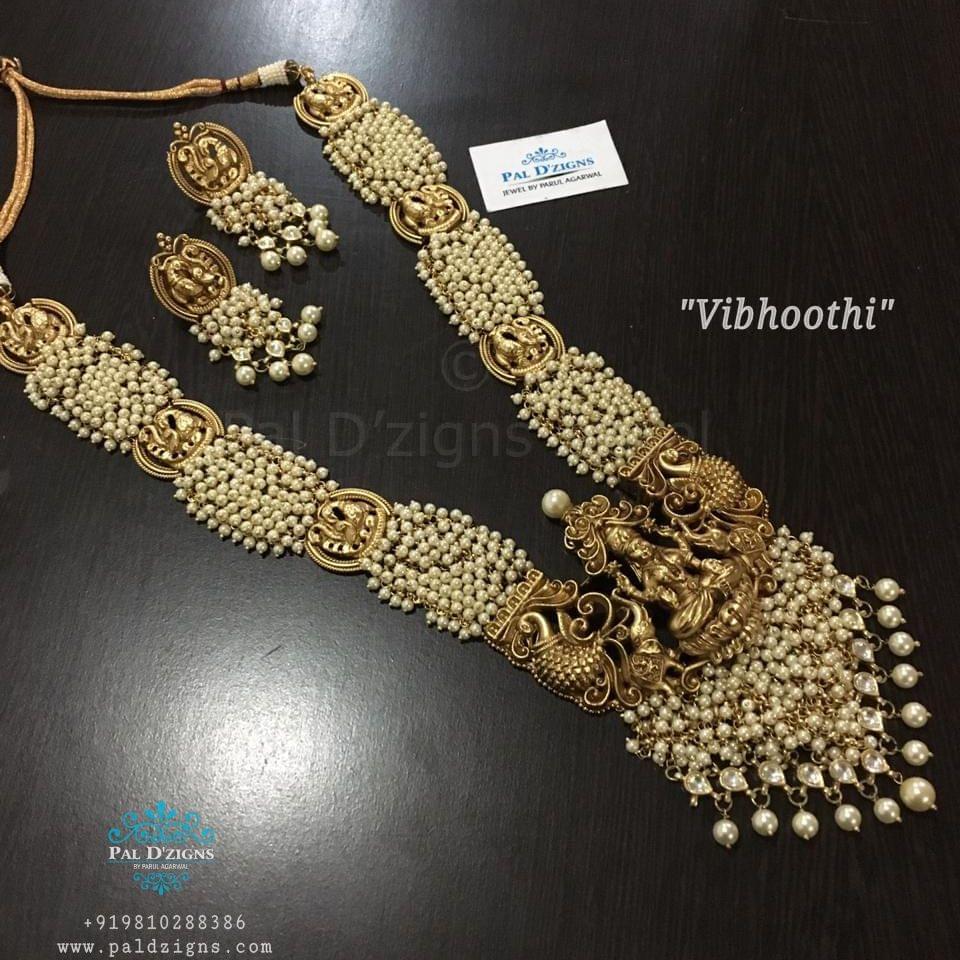 Vibhooti temple jewellery