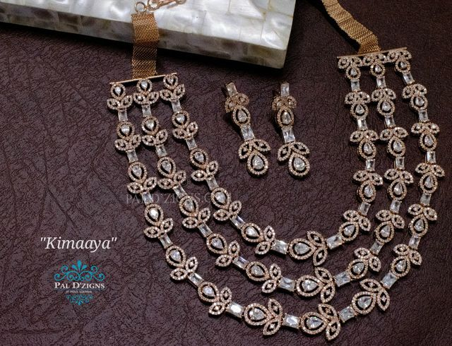 Kimaaya Diamond Necklace Set