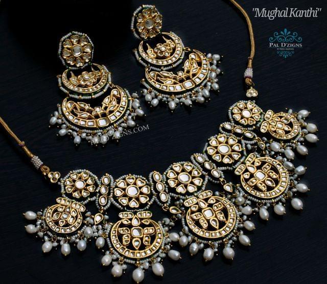 Mughal Kanthi Choker Set