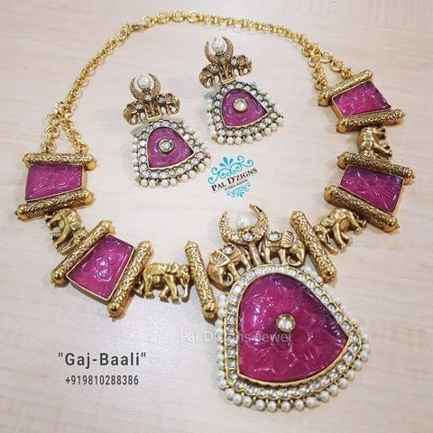 Gaj - Baali Necklace