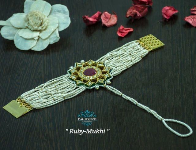 Ruby Mukhi Bracelet