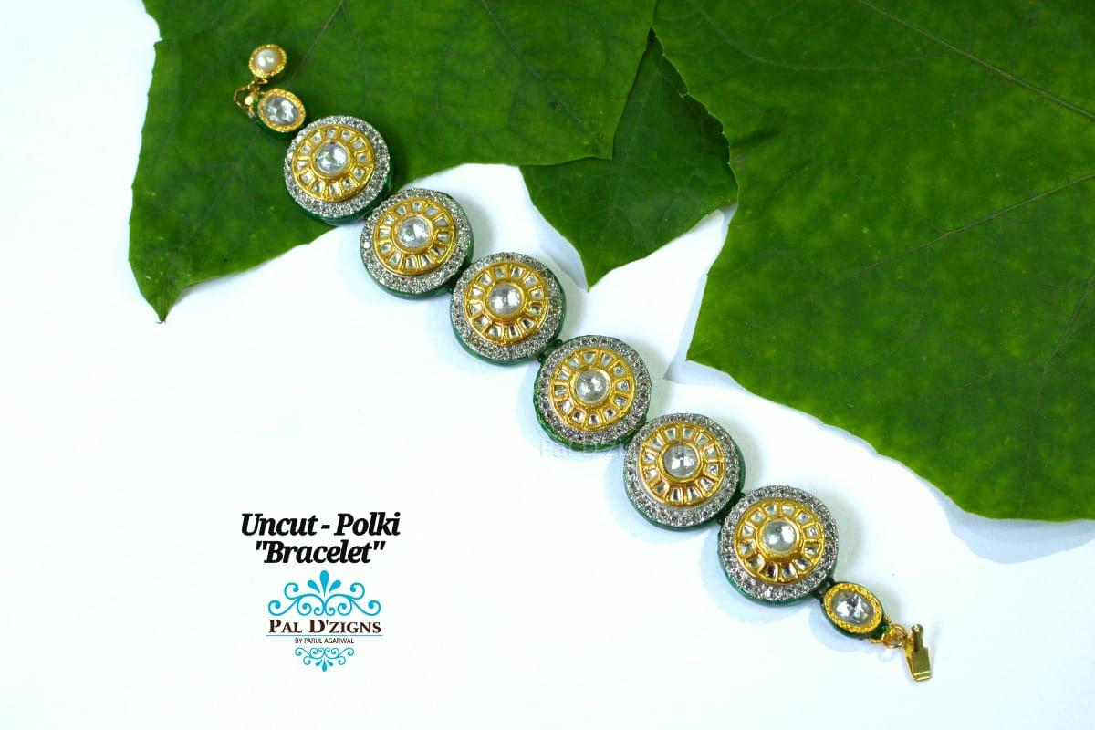 Uncut -Polki Bracelet