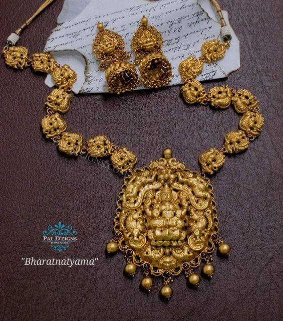 Bharatnatyama Temple Jewellery
