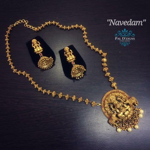 Navedam Temple Jewellery