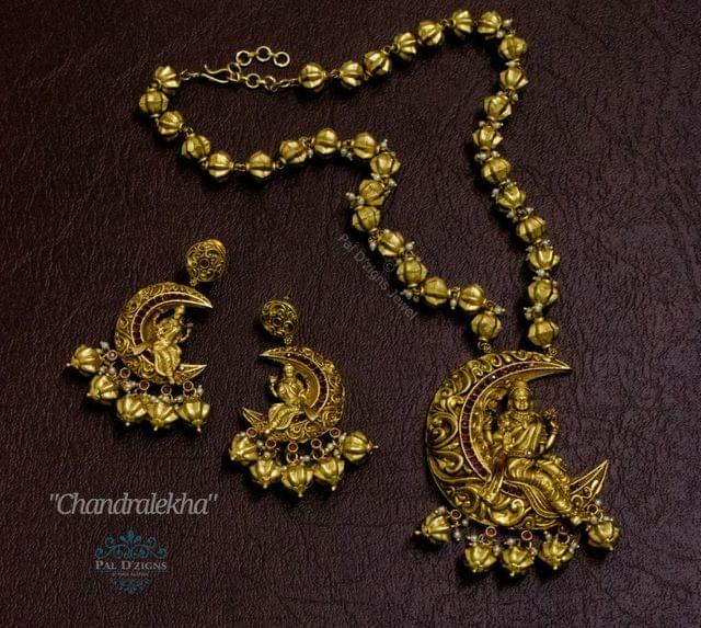 Chandralekha Temple Jewellery
