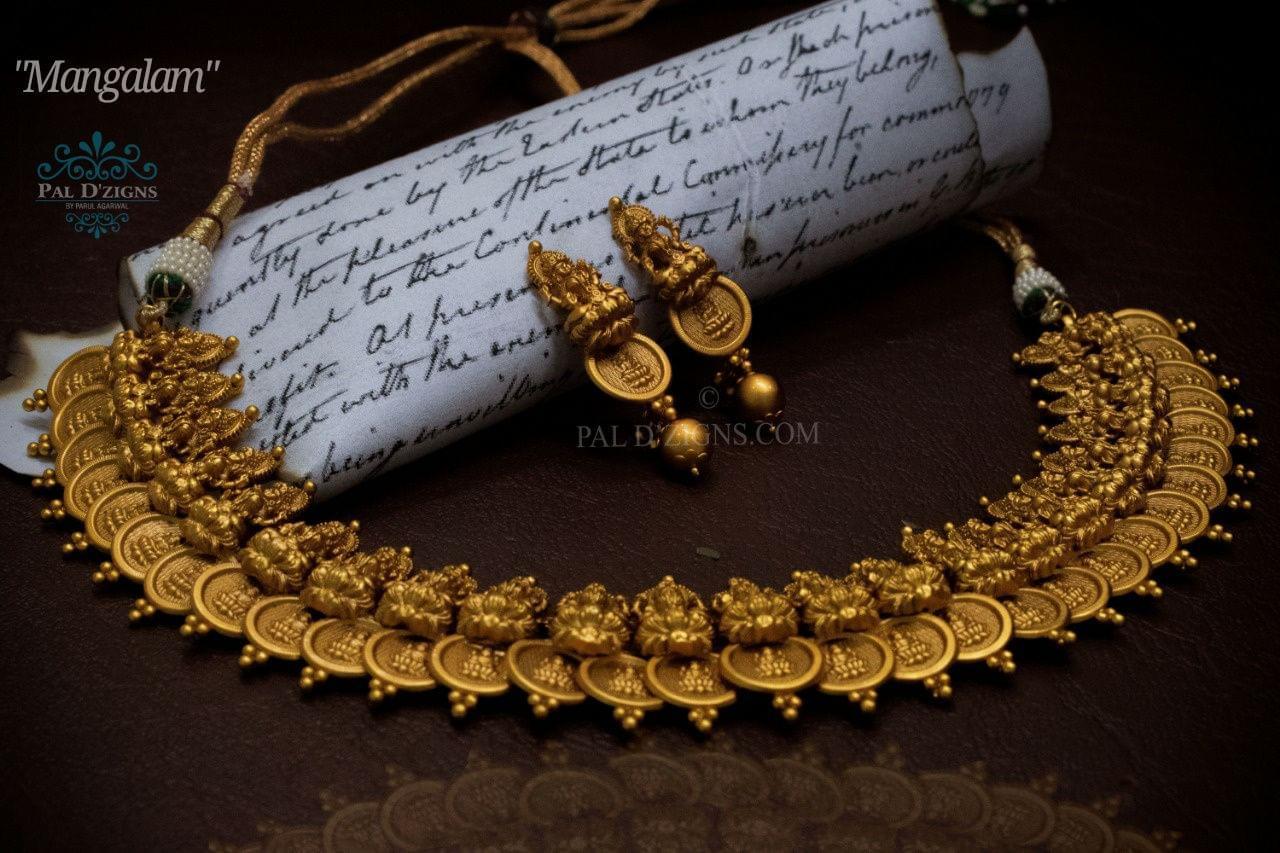Mangalam Temple Jewellery
