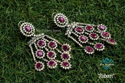 Rubeen Diamond Earing