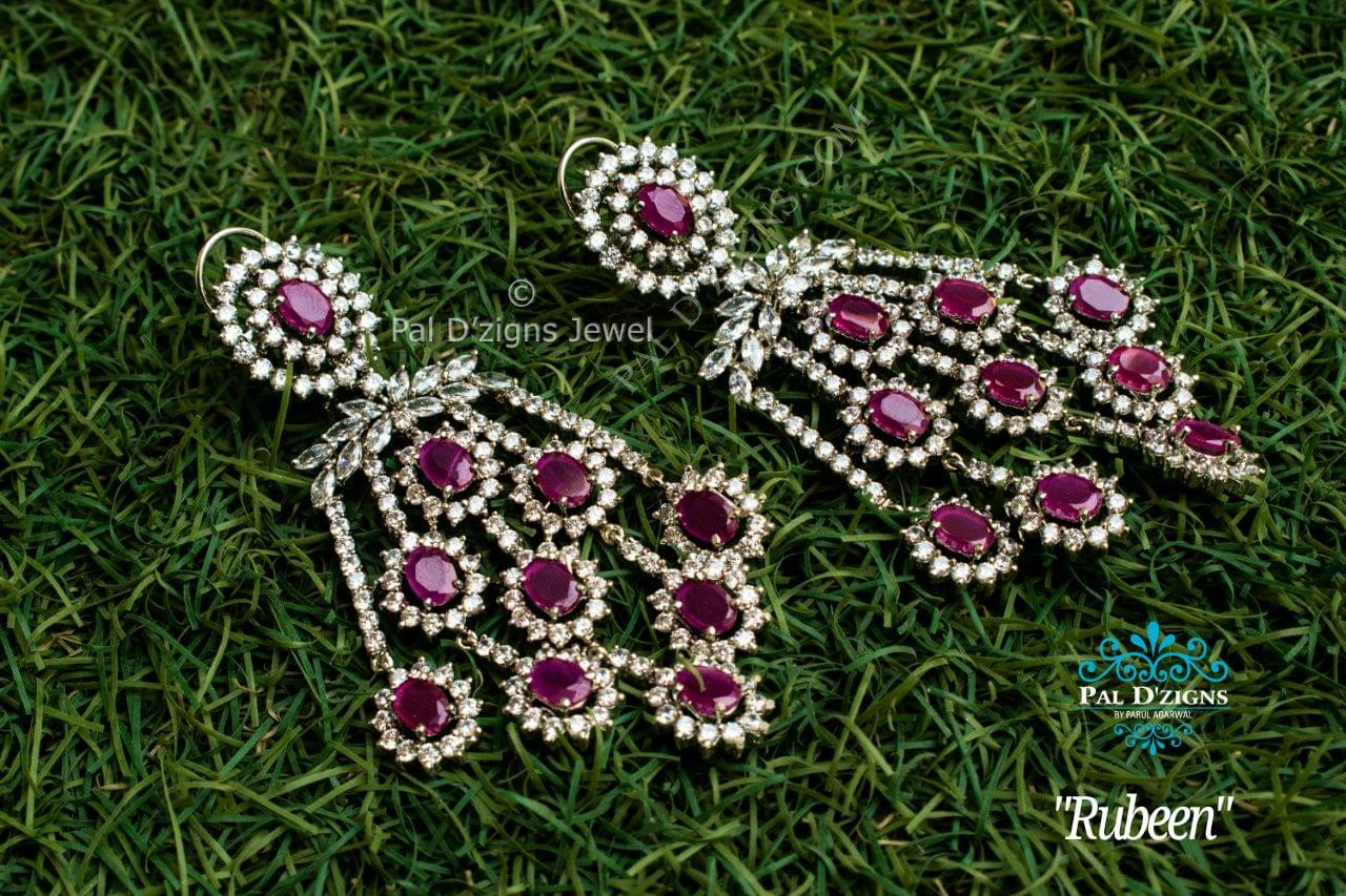 Rubeen Diamond Earing