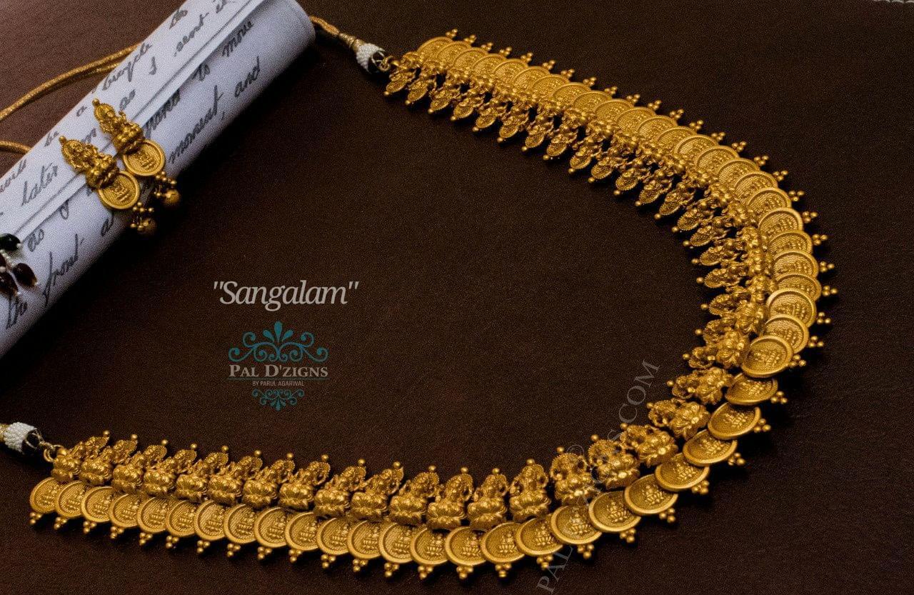 Sangalam Temple Jewellery