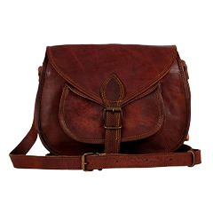 Purpledip Women's/Ladies Leather Purse or Hand-bag  (10162)