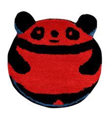 Door Mat Kung Fu Panda Shape: Thick, Soft, Non-skid Floor Carpet Rug 10750