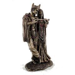 Beautiful Detailed Statue Radha Krishna Eternal Love Home Decor Gifts 10839