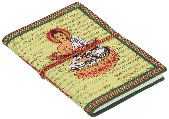 Purpledip Handmade Paper Diary Journal: Buddha (10961)