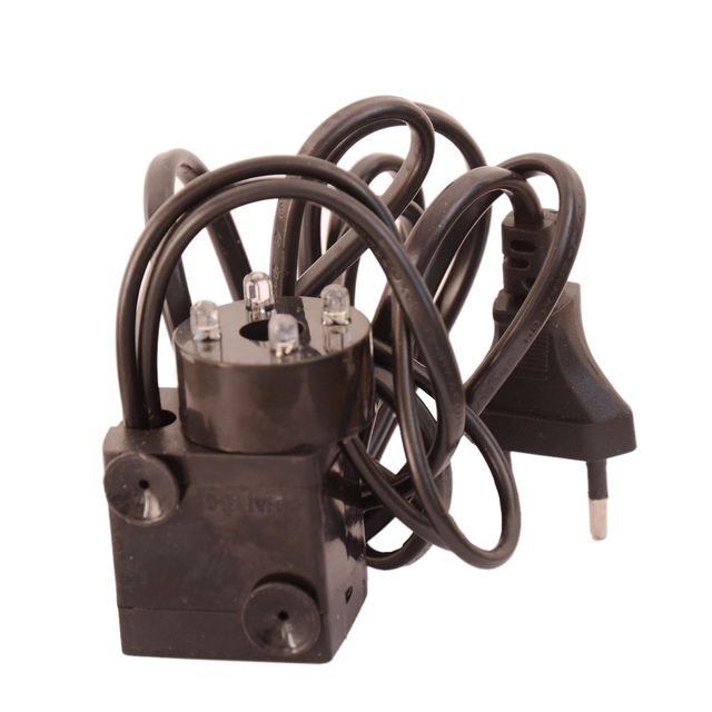 Small Motor Pump & LED Lights Cord For Indoor Table Top Feng Shui Fountain (10994)