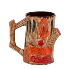 Purpledip Goa Beach Ceramic Coffee / Beer Mugs, Indian Souvenir Goa Memorabilia,200 Ml (10756)