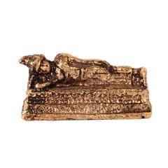 Purpledip Rare Miniature Statue Resting Buddha: Unique Collectible Gift (11184)