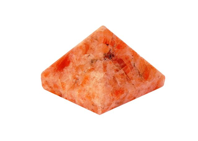 Sunstone Pyramid: Good Luck Healing Charm (11329)