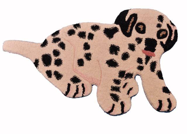 Doormat 'Cutie-Pie': Thick, Soft, Non-skid Handtufted Floor Carpet Rug (11370)