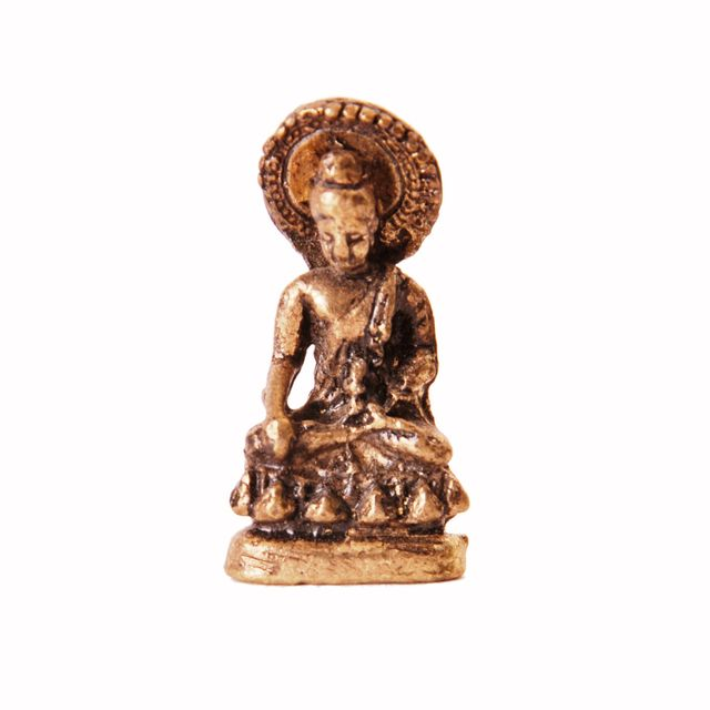 Rare Miniature Statue Gautam Buddha in Varada Mudra, Unique Collectible Gift (11400)