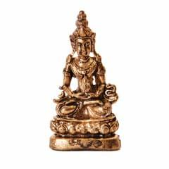 Rare Miniature Statue Lord Buddha in Dhyana Mudra, Unique Collectible Gift (11413)