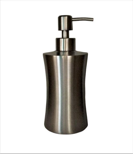 Purpledip Metallic Dispenser for Liquid Soaps or Lotions (11523)