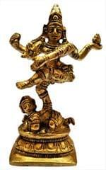 Brass Statue Nataraja: Dancing Lord Shiva (11584)