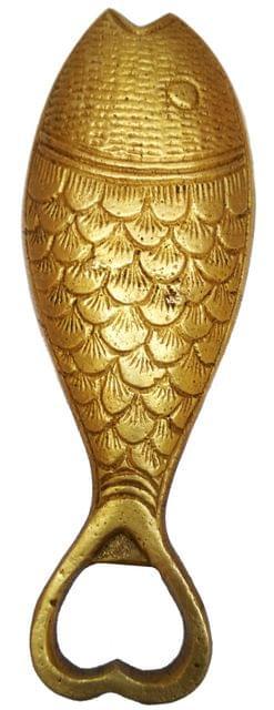 Brass Bottle Opener 'Always Drunk': Vintage Collectible Barware (11598)
