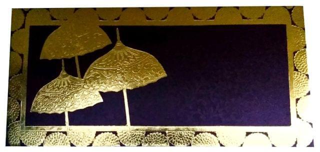 Purpledip Handmade Paper Shagun Envelopes 'Royal Canopy': Pack of 10 (11703)