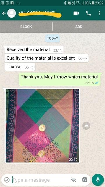 Received the materials.. quality of the materials excellent.. Thanks.  - Reviewed on 01-Feb-2019