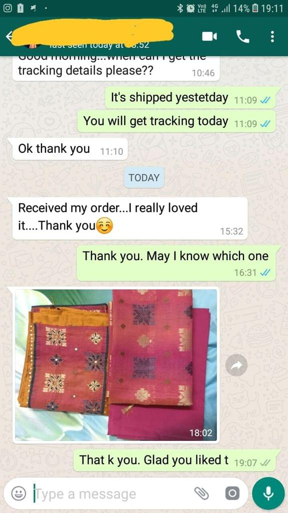 Received my order... I really loved it .. Thank you. - Reviewed on 16-Feb-2019