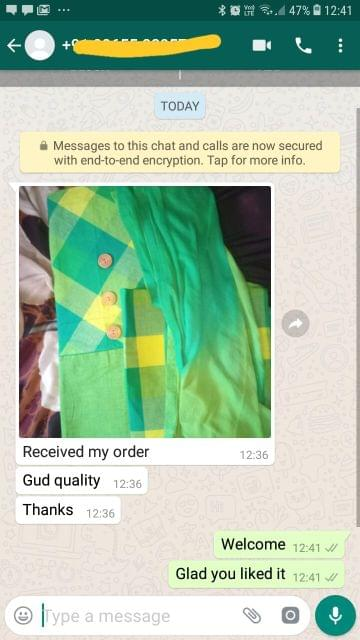 Received my order.. Good quality... Thank you. - Reviewed on 21-Feb-2019