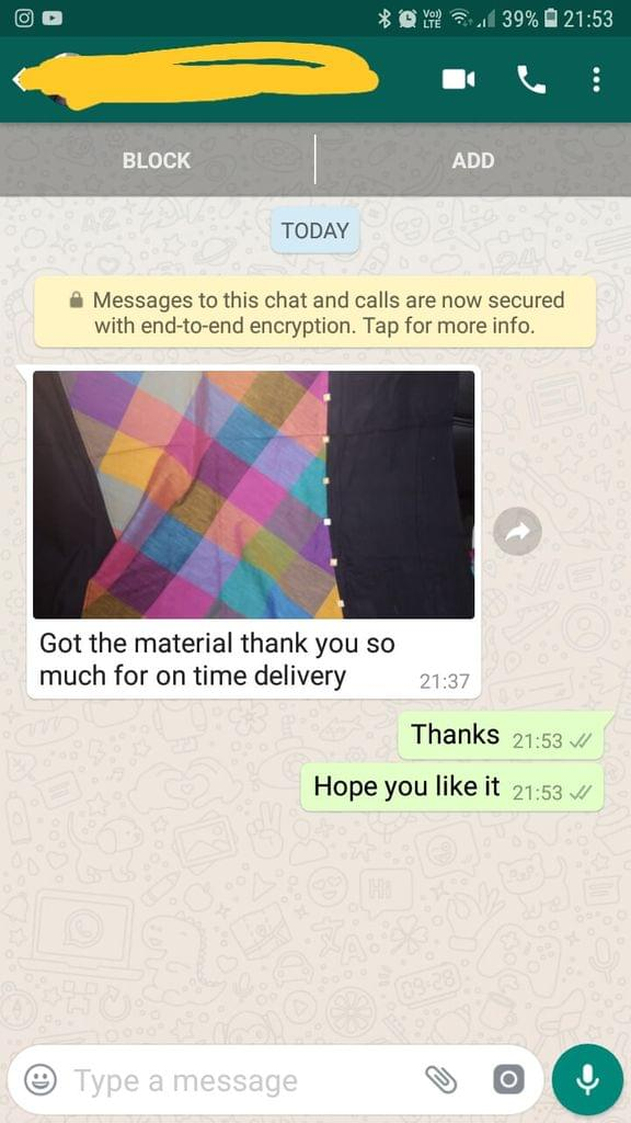 Got the material... Thank you so much for on time delivery. - Reviewed on 25-Feb-2019