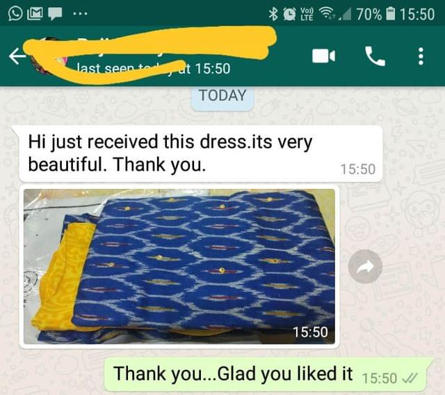 Just received the dress... It's very beautiful... Thank you.  - Reviewed on 01-Mar-2019