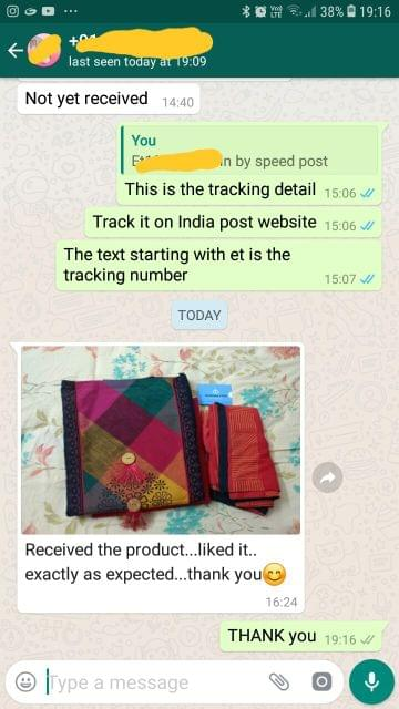 Received the product... Liked it exactly as expected... Thank you. -Reviewed on 20-Mar-2019