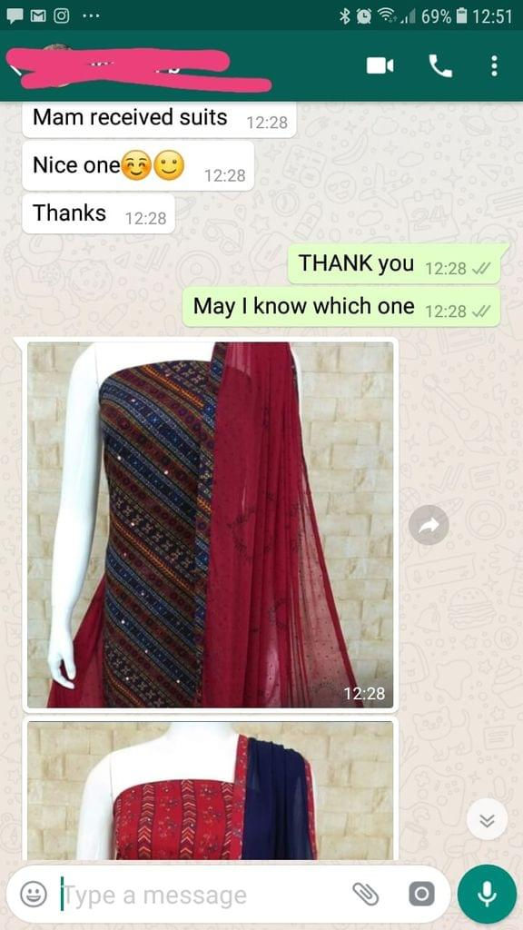 Received suits... Nice one... Thanks.  -Reviewed on 28-Mar-2019
