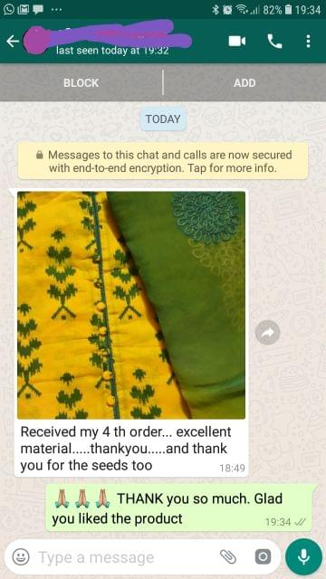 I received my forth order... Excellent material... Thank you for the seeds... Thank you. -Reviewed on 25-July-2019