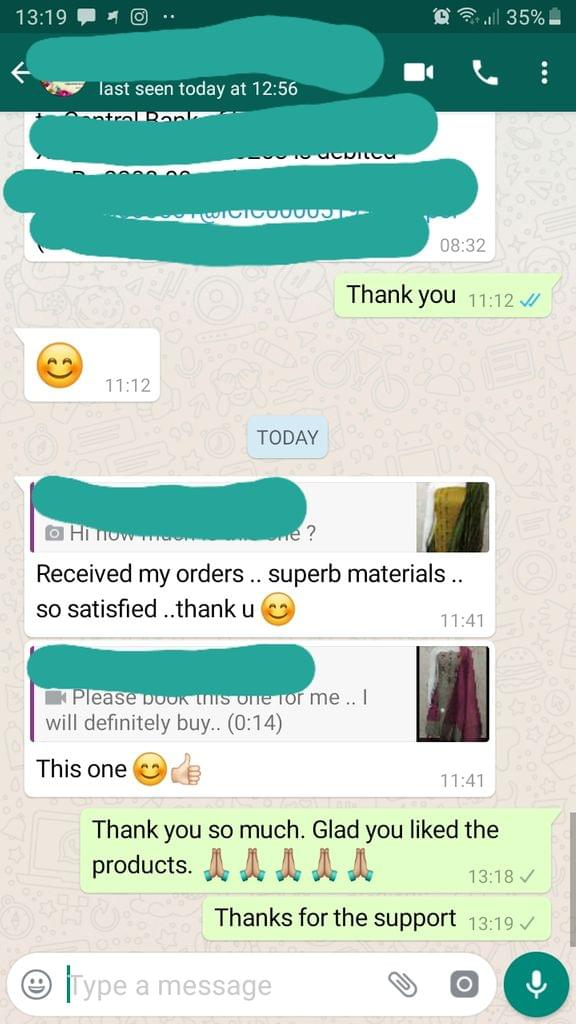 Received my order... Superb materials... So satisfied... Thank you... This one is good and nice. -Reviewed on 18-Aug-2019