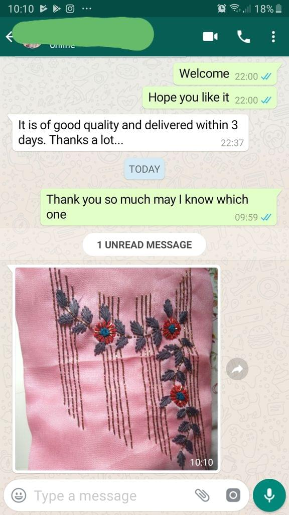 I it is of good quality and delivered within 3 days... Thanks a lot. -Reviewed on 27-Aug-2019