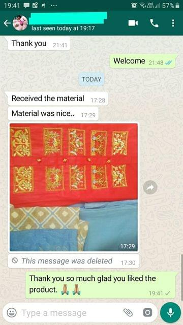 Received the material. Material was nice -Reviewed on 04-Sep-2019