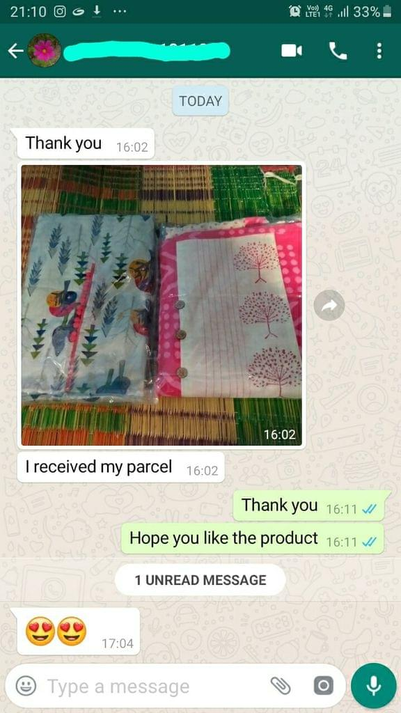 I received my parcel. Love it. -Reviewed on 7-Sep-2019