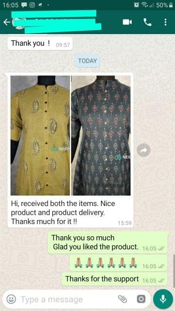 Received both the items. Nice product and product delivery. Thanks much for it. -Reviewed on 18-Sep-2019