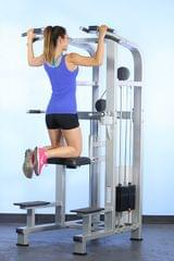 WEIGHT ASSISTED CHIN/DIP COMBO MACHINE