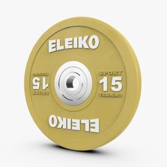 ELEIKO SPORT TRAINING DISC- COLOURED 10-25KG