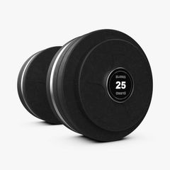 ELEIKO FAT GRIP VULCANO DISC DUMBBELLS 12.5-70 KG