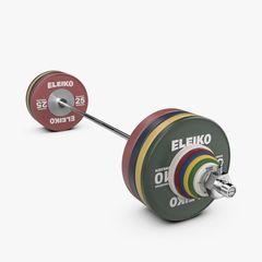 IWF WEIGHTLIFTING TRAINING SET - 190 KG, MEN, RC