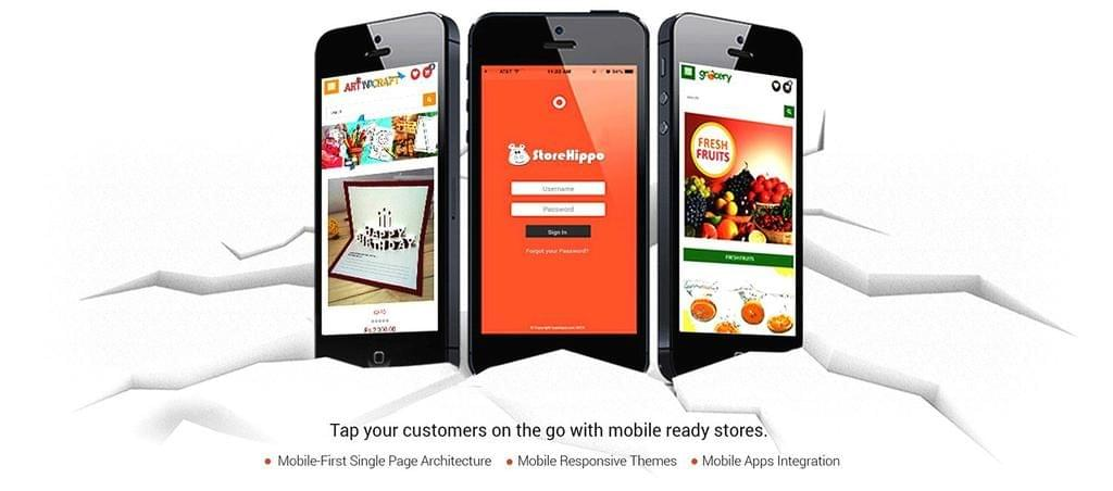 mobile ecommerce store