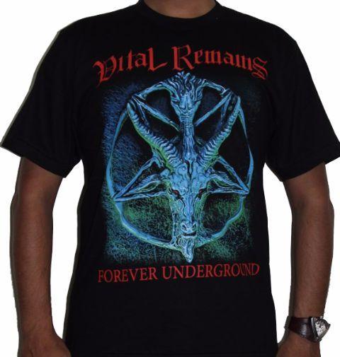 Vital Remains- Forever UnderGround Premium Tshirt