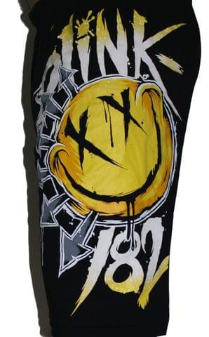 Blink 182 Premium Shorts Free Size (28 inches to 44 inches)